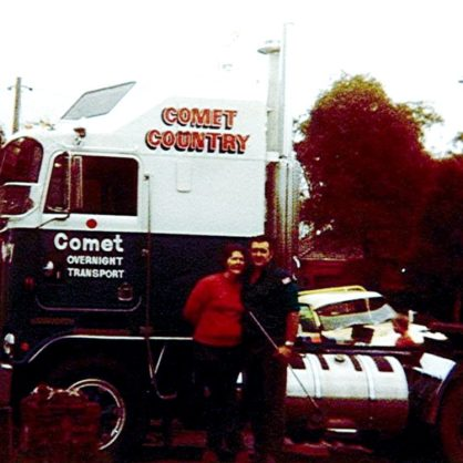 15 Baker Terry With His First Truck 1981 Kenworth Aerodyne