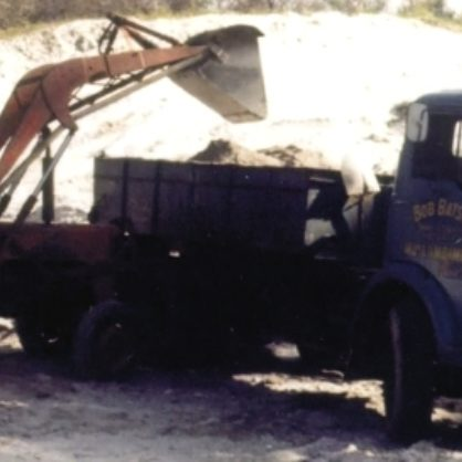 15 Batson 1968 The Start Of The Sand And Gravel Quarry