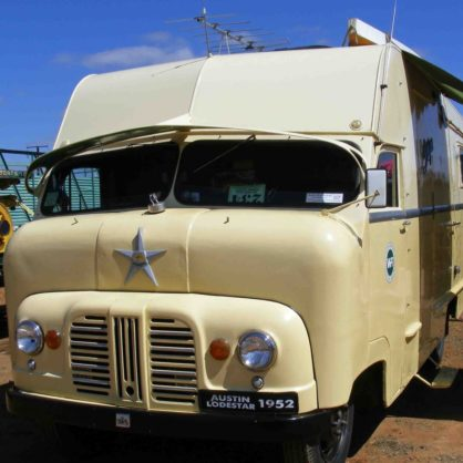 1952 Austin Loadstar Van At Reunion 2010 In Alice Springs