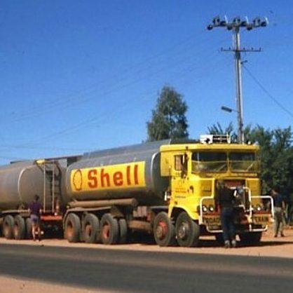 Alice Springs Atkinson Shell Road Train1975