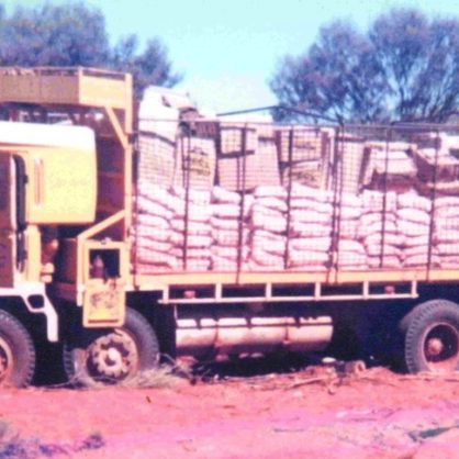 Bogged Atkinson 1960S In Central Australia