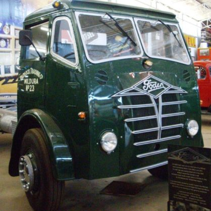 Donated By Gtd Transport In Mildura This Foden Was Owned By Local Operator Gordon Cupper