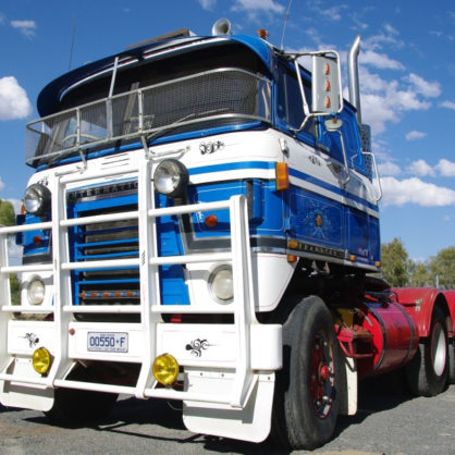 Jim Jacksons International Transtar Was Driven All The Way From Lock Vic To Its New Home At The Hall Of Fame In 2006