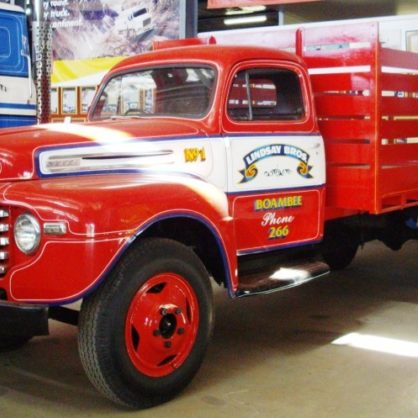 Lindsay Bros First Truck 1953 Side Valve Ford