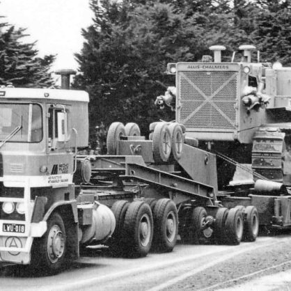 Mecho Atkinson Doing Some Heavy Haulage