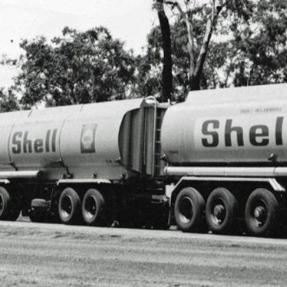 Shell Roadtrain Atkinson In Northern Territory