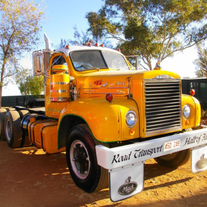 This B615 Mack Tandem Was Tehy First Truck Ever Donated To The Society It Was Presented To Us In 1994 By Mack Trucks Australia