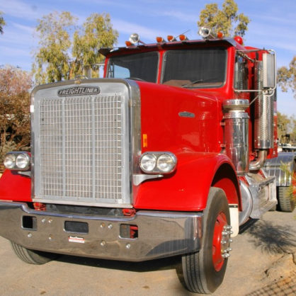 This Bold Freightliner Was The First To Come Into The Country