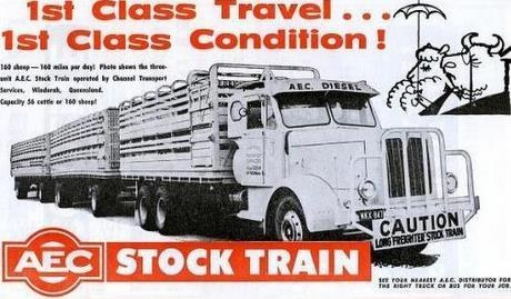 Aec Stock Train Advert 1961